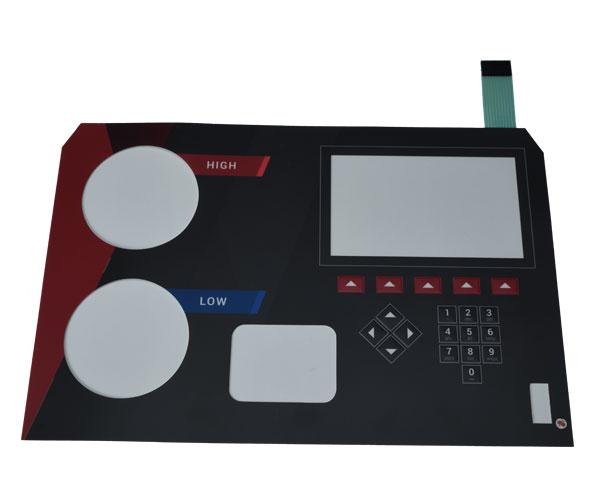柯式印刷+薄膜按键开关