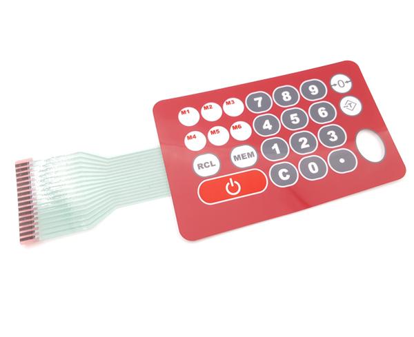 电子秤 薄膜按键开关